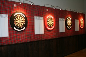 Dartboards beim DC CHUR