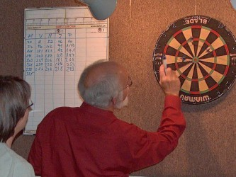Chess meets Darts