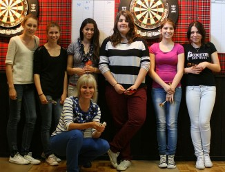 Mai 2013 - Darts for young Ladies, 5-Dörfer Zizers