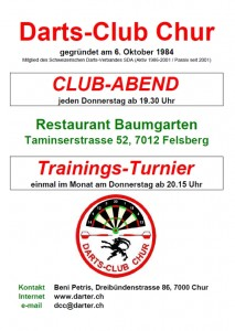 Trainingsturnier DC Chur