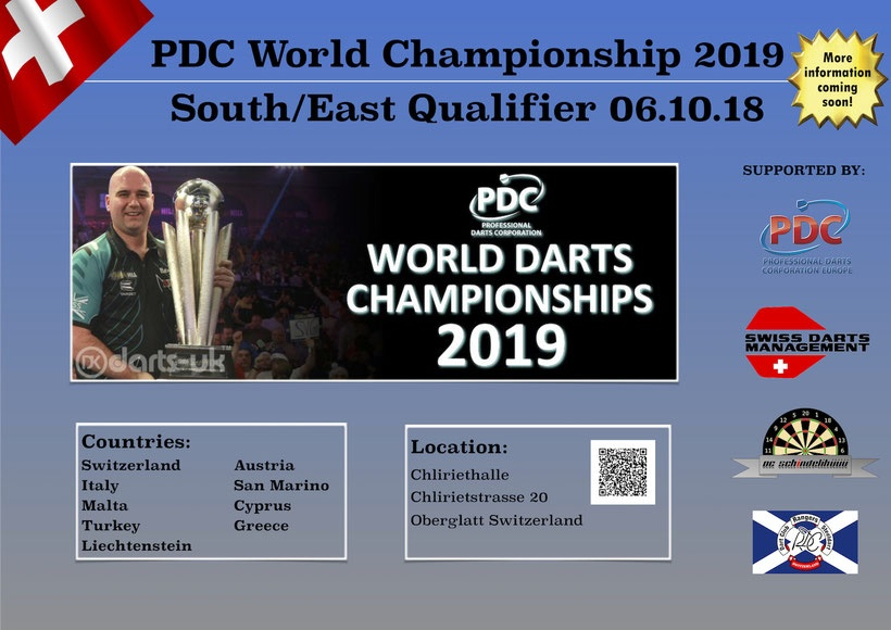 PDC WM 2019 - South East Qualifier